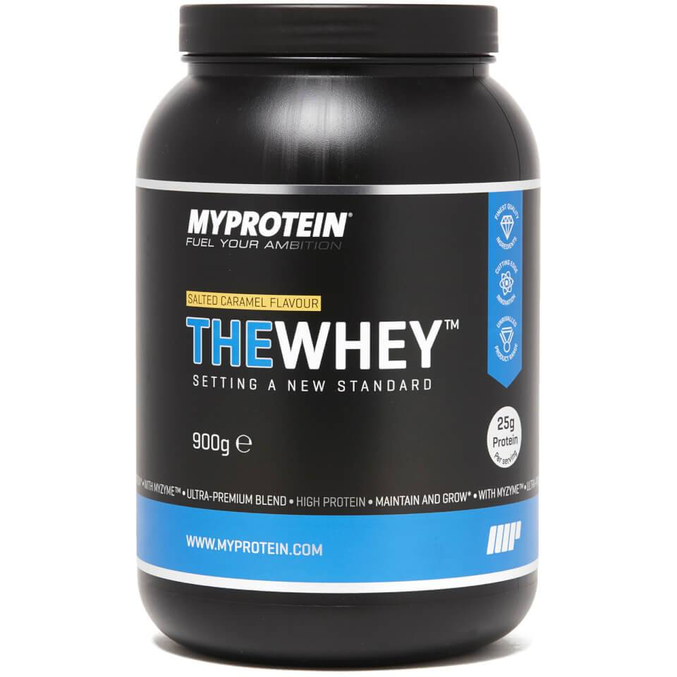 Myprotein Thewhey™ - 30 Servings - 900g - Tuubi - Salted Caramel