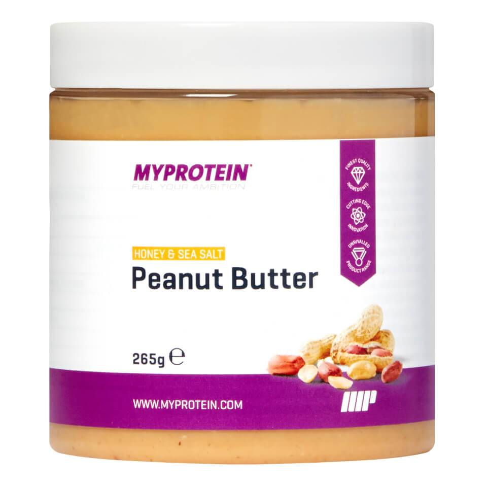 Myprotein Active Women Peanut Butter - 265g - Kannu - Honey and Sea Salt