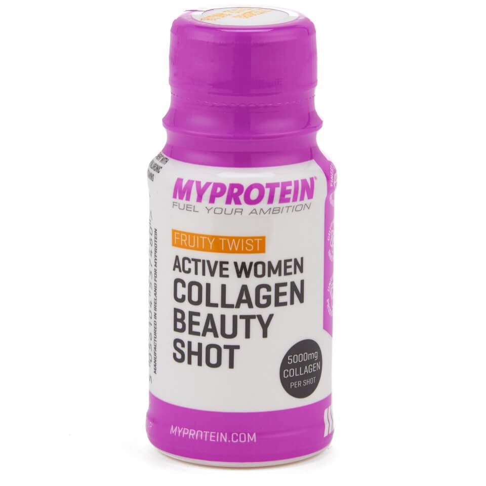 Myprotein Active Women Kollageeni-kauneusshotti (Näyte) - 60ml - Pullot - Fruity Twist