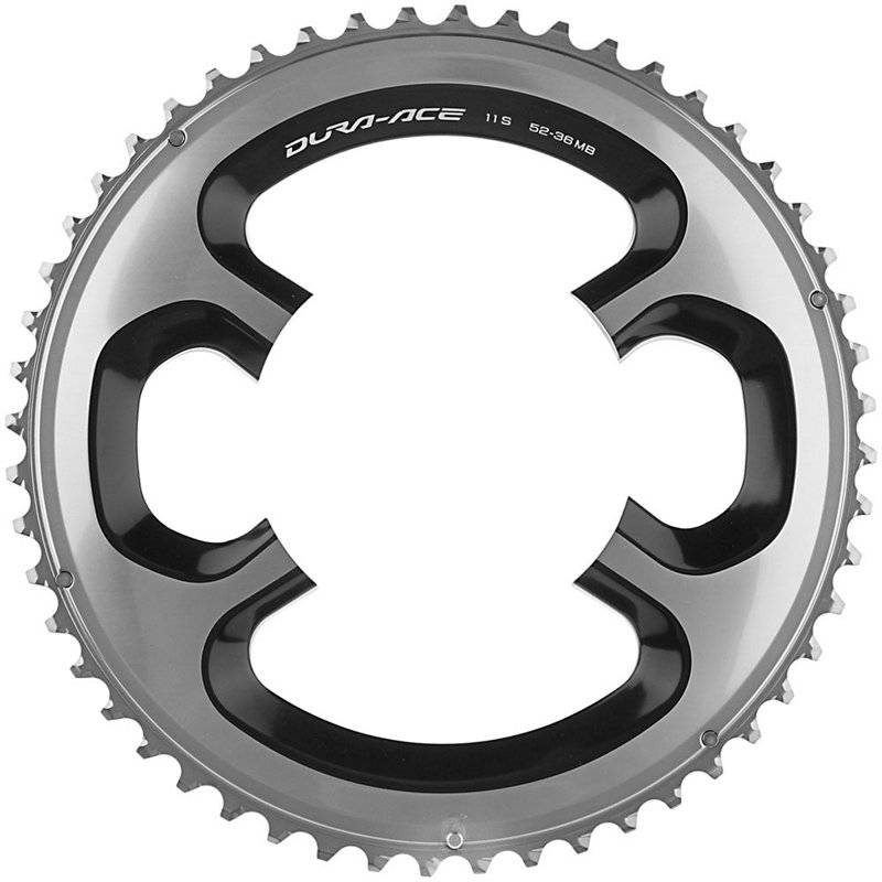 Shimano Dura-Ace (ME-Type) chainring 54T BCD110 silver