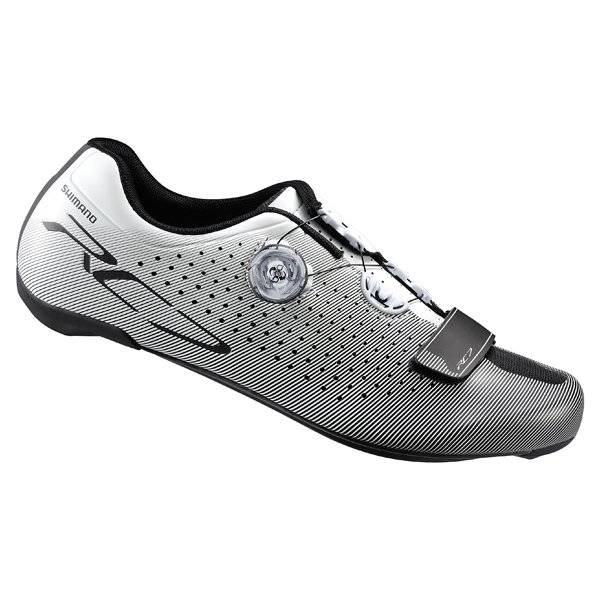 Shimano RC7 (RC700) Carbon Road shoe white wide model