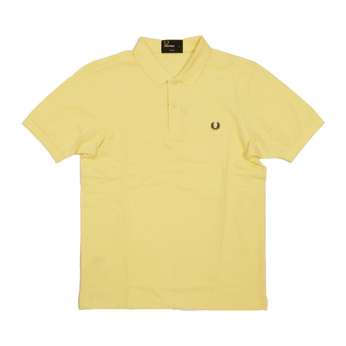 Fred Perry Slim Fit Polo Yellow L