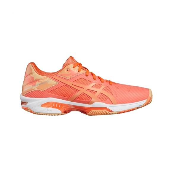 Asics Gel-Solution Speed 3 Clay/padel Flash Coral Women L.E. 39.5