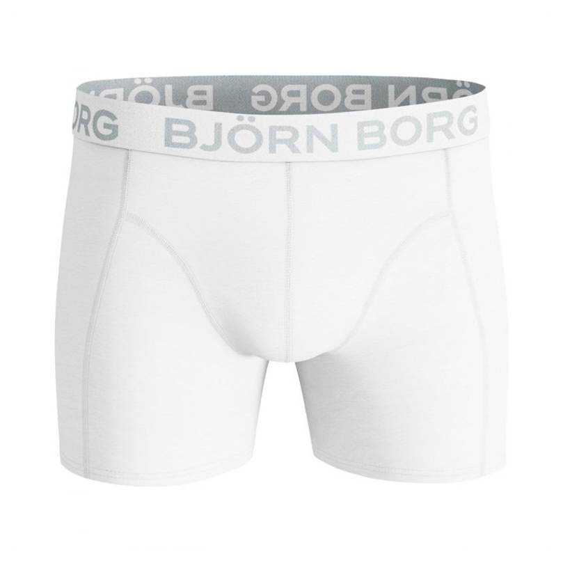 Björn Borg Solid Cotton Stretch Shorts White M