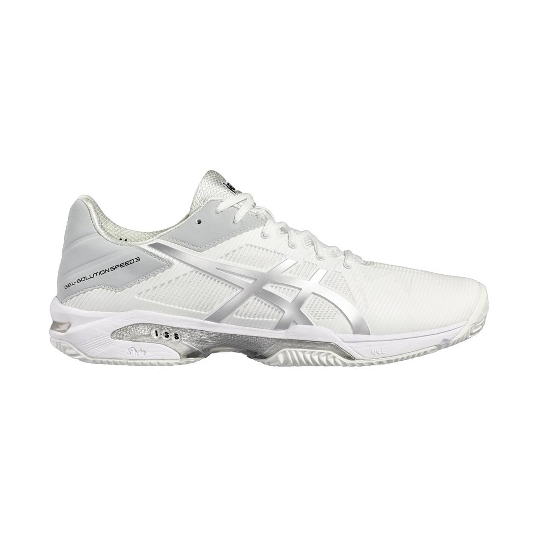 Asics Gel-Solution Speed 3 Clay White 47