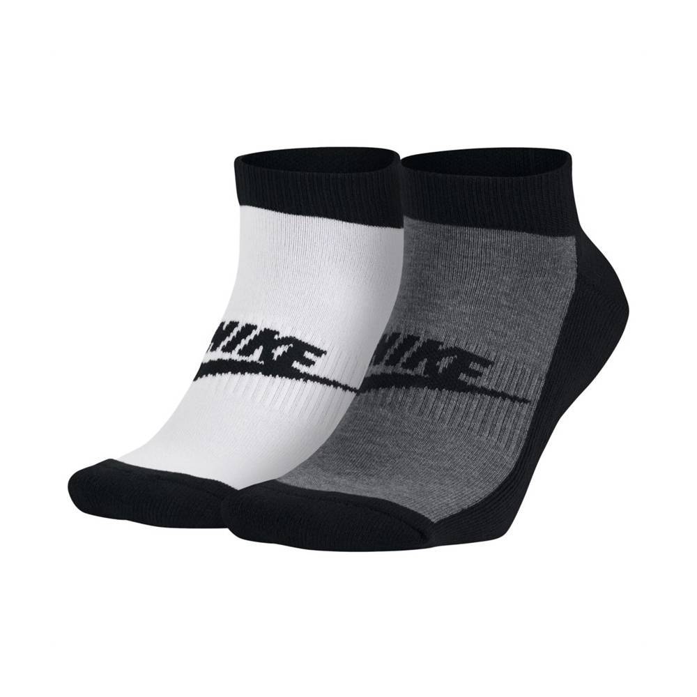 Nike Graphic No-Show Ankle Socks 2-pack 42-46