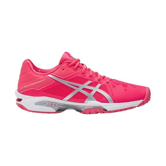 Asics Gel-Solution Speed 3 Rouge Red/Silver/White 41.5