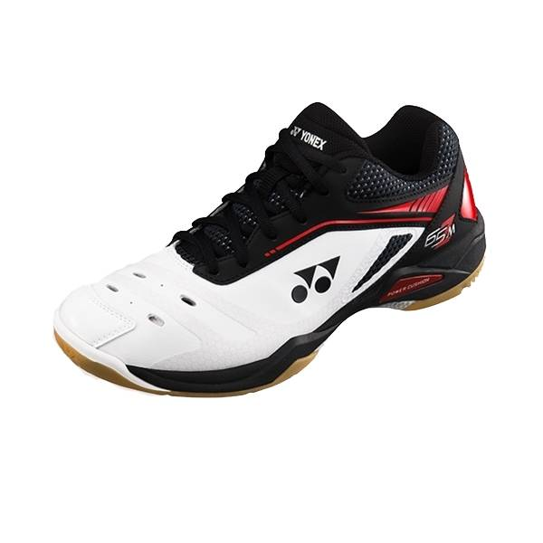 Yonex SHB 65 ZM (Men) White/Black/Red 2018 45