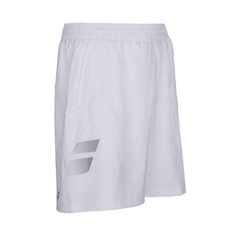 Babolat Core Short Boy White 164 (12-14 år)