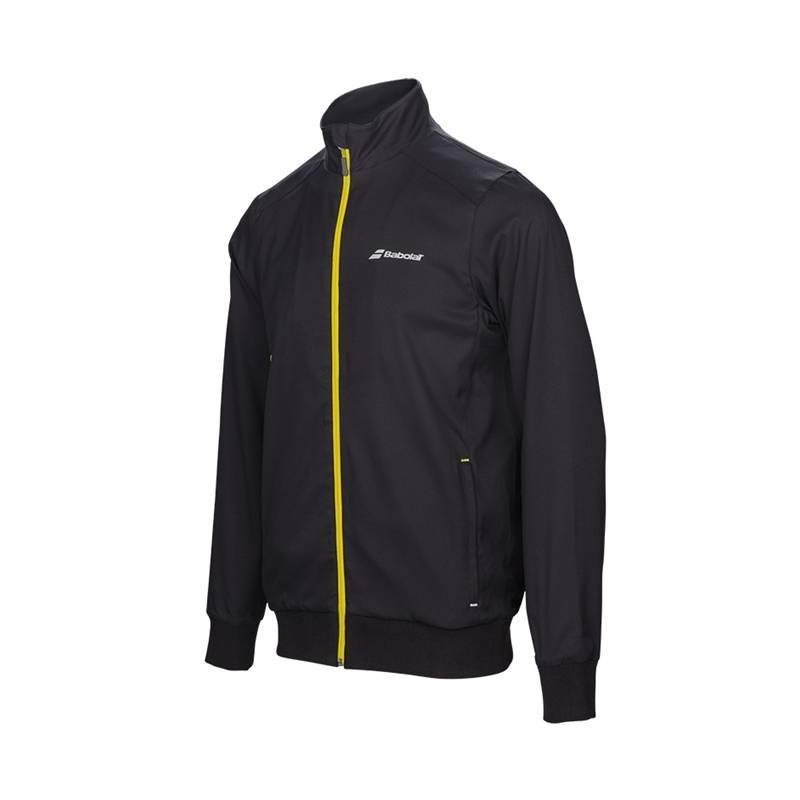 Babolat Core Jacket Boy Black 164 (12-14 år)