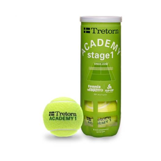 Tretorn Academy Green Stage 1. 3 tuubia