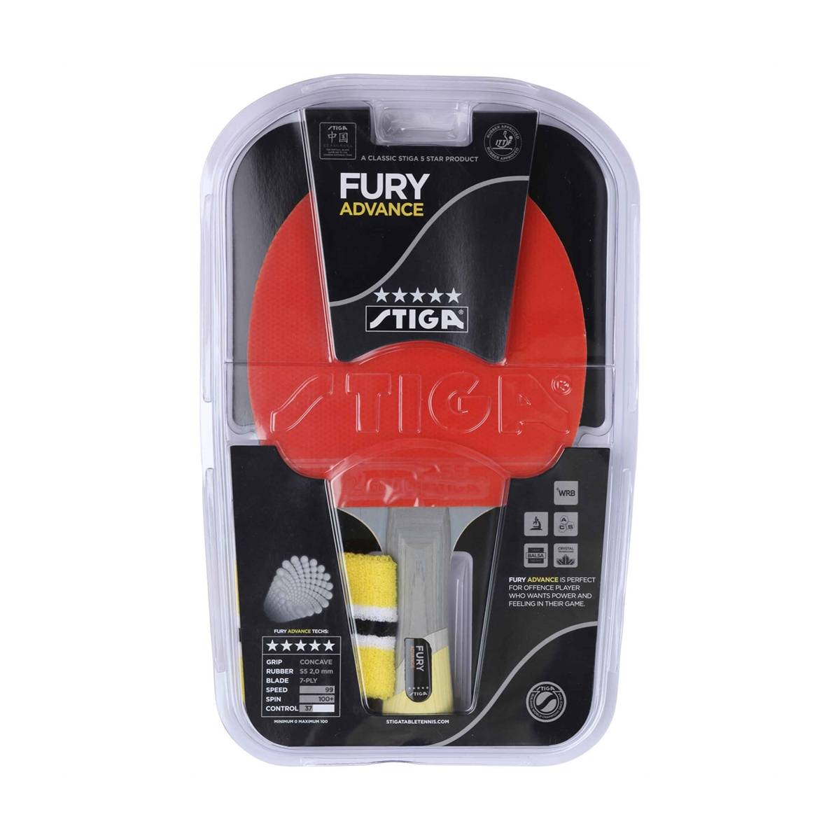 Stiga Fury Advance Kit
