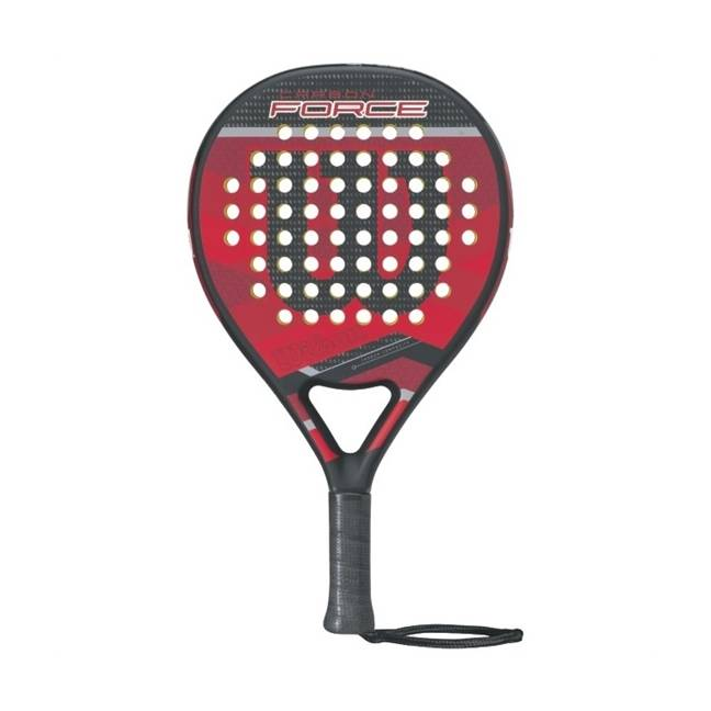 Wilson Carbon Force Padel Black/Red