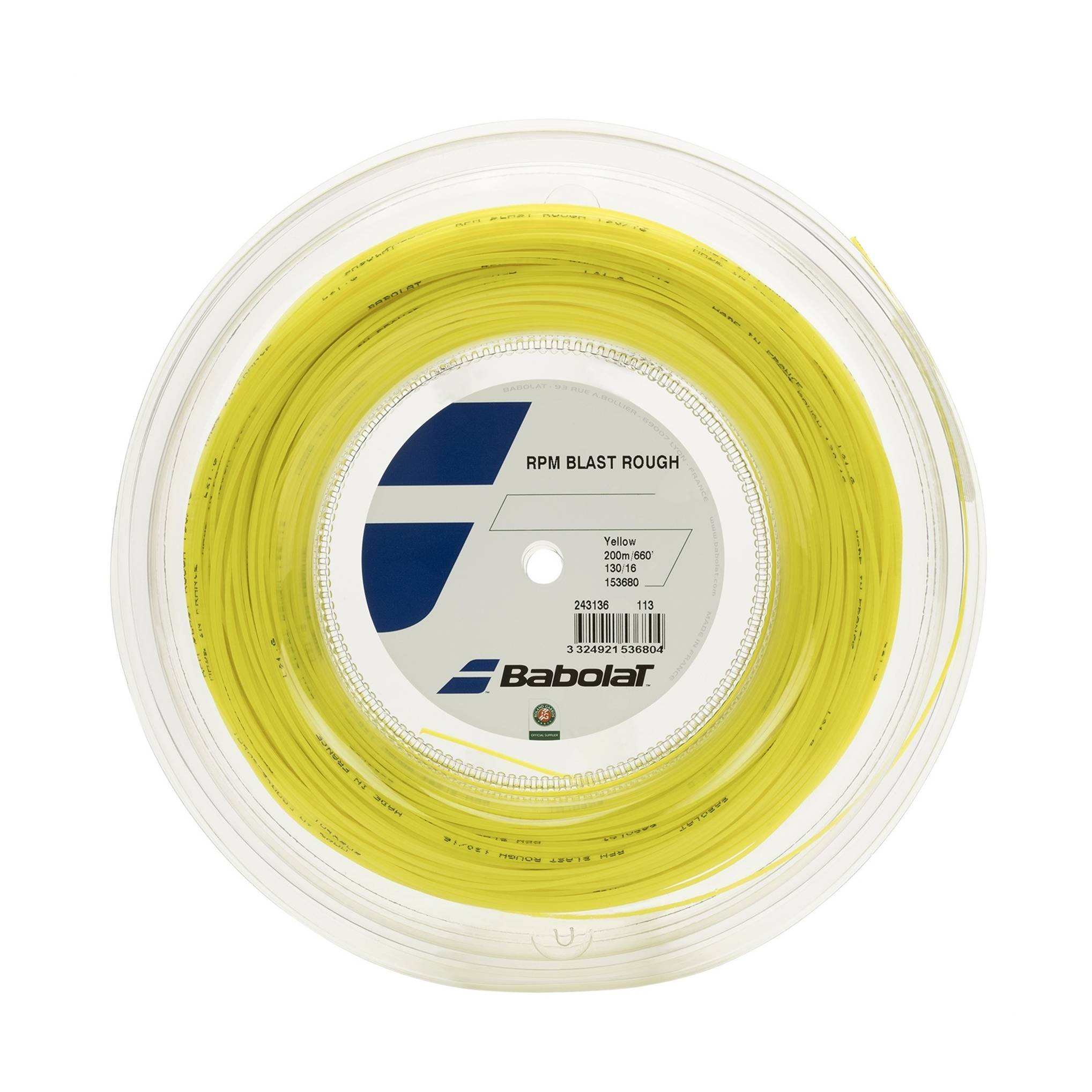 Babolat RPM Blast Rough Yellow 200 m 1,35