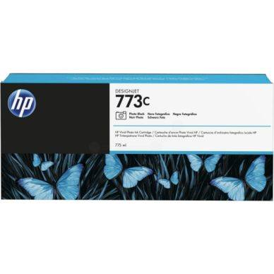 HP Mustepatruuna fotomusta HP 773C, 775ml C1Q43A Replace: N/A
