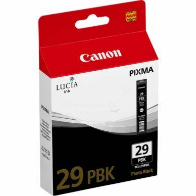 Canon Mustepatruuna musta photo PGI-29PBK Replace: N/A
