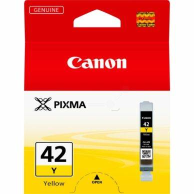 Canon Mustepatruuna keltainen, 280 sivua CLI-42Y Replace: N/A