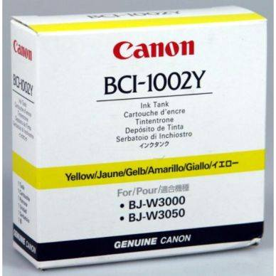Canon Mustepatruuna keltainen 42 ml BCI-1002Y Replace: N/A