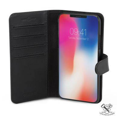 Apple Champion Champion Wallet nahka Slim iPhone X musta 7391091854713 Replace: N/A