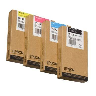Epson Mustepatruuna keltainen 220ml T6124 Replace: N/A