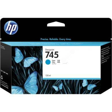 HP Mustepatruuna cyan (745), 130 ml F9J97A Replace: N/A