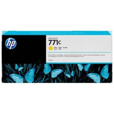 HP Mustepatruuna keltainen 775 ml B6Y10A Replace: N/A