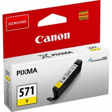 Canon Mustepatruuna keltainen 7 ml CLI-571Y Replace: N/A