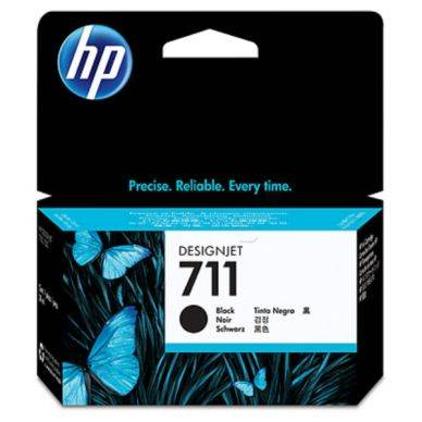 HP Mustepatruuna musta, 38 ml (HP711) CZ129A Replace: N/A