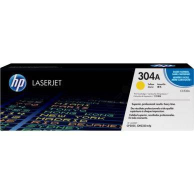 HP Värikasetti Colorsphere keltainen 2.800 sivua CC532A Replace: N/A