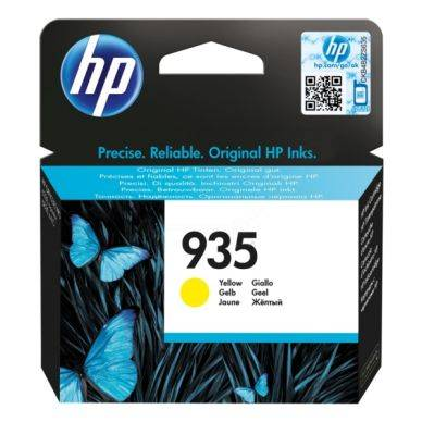 HP Mustepatruuna keltainen HP 935, 400 sivua C2P22AE Replace: N/A