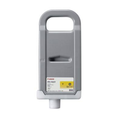 Canon Mustepatruuna keltainen 700ml PFI-703Y Replace: N/A