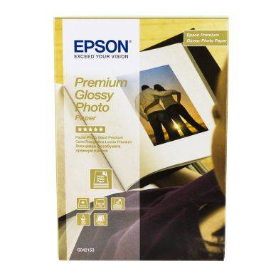 Epson Photo-paperi Premium Glossy 10x15 40ark. 255g C13S042153 Replace: N/A