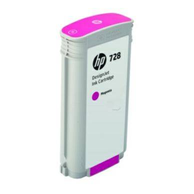 HP Mustepatruuna magenta HP 728, 130 ml F9J66A Replace: N/A