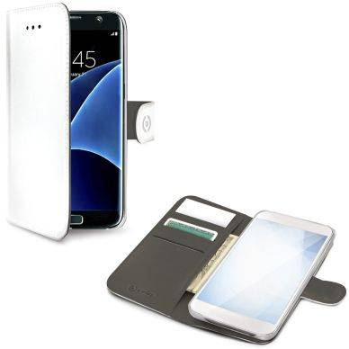 Samsung Celly Celly Wallet Case Galaxy S8+ valkoinen WALLY691WH Replace: N/A