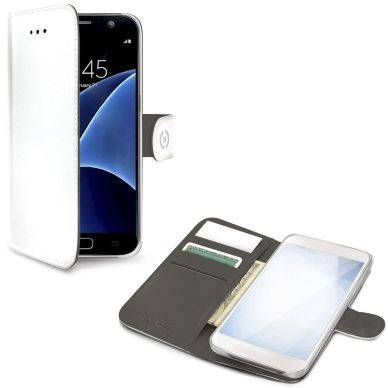 Samsung Celly Celly Wallet Case Galaxy S8 valkoinen WALLY690WH Replace: N/A