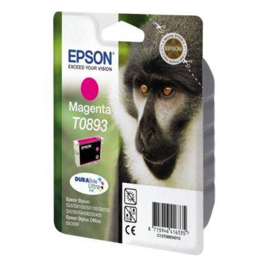 Epson Mustepatruuna magenta 3,5ml T0893 Replace: N/A