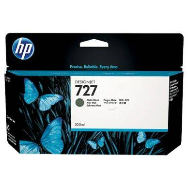 HP Mustepatruuna fotomusta HP 727, 300 ml F9J79A Replace: N/A