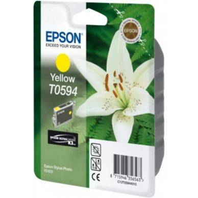 Epson Mustepatruuna keltainen T0594 Replace: N/A