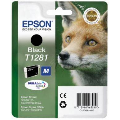 Epson Mustepatruuna musta 5,9 ml T1281 Replace: N/A