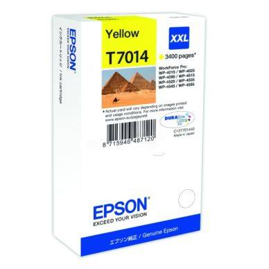 Epson Mustepatruuna keltainen 3.400 sivua T7014 Replace: N/A