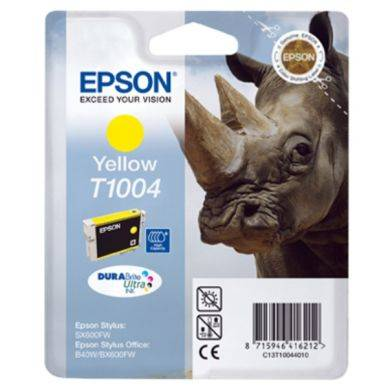 Epson Mustepatruuna keltainen T100 11,1 ml T1004 Replace: N/A