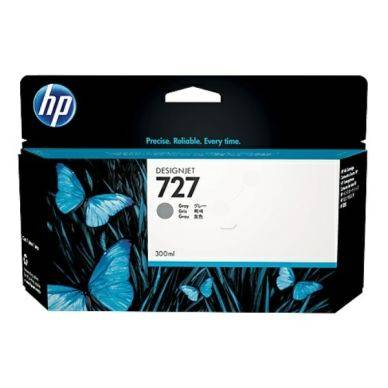 HP Mustepatruuna harmaa HP 727, 300 ml F9J80A Replace: N/A