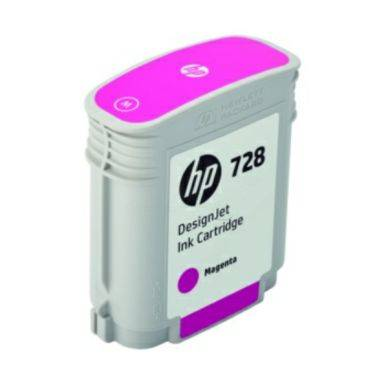 HP Mustepatruuna magenta HP 728, 40 ml F9J62A Replace: N/A