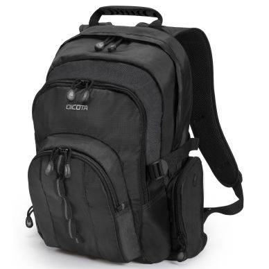 Dicota Backpack Universal, 14-15,6 tuumaa, musta D31008 Replace: N/A