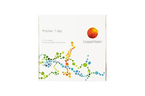 CooperVision ProClear 1 Day - 90/pkt