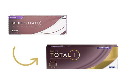 Alcon Dailies Total 1 Multifocal - 30/pkt