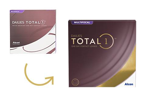 Alcon Dailies Total 1 Multifocal - 90/pkt