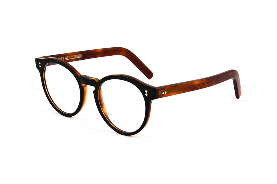 Cutler and Gross CG 1097 black / turtle