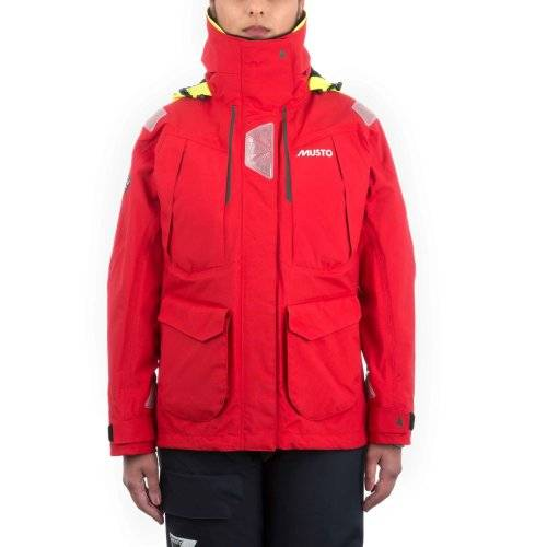 Br2 offshore jacket red/red m