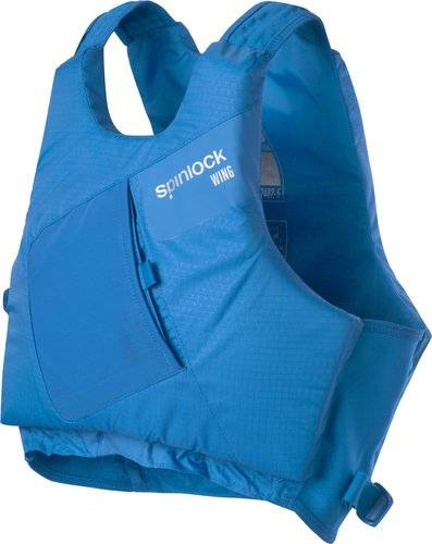 Spinlock Size s wing pfd side zip cobalt blue
